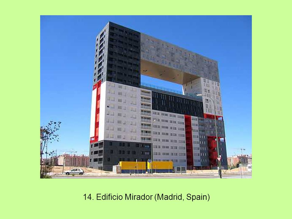 14. Edificio Mirador (Madrid, Spain)