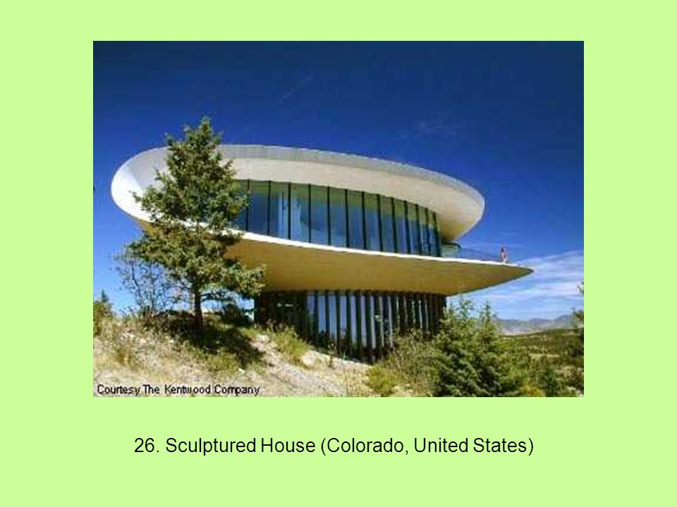 26. Sculptured House (Colorado, United States)