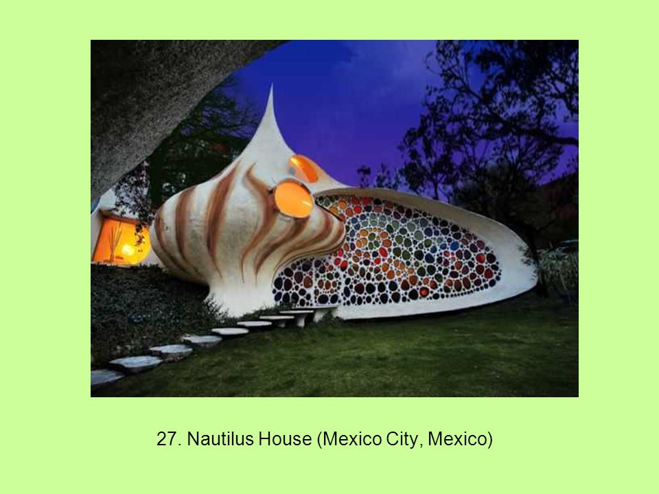 27. Nautilus House (Mexico City, Mexico)