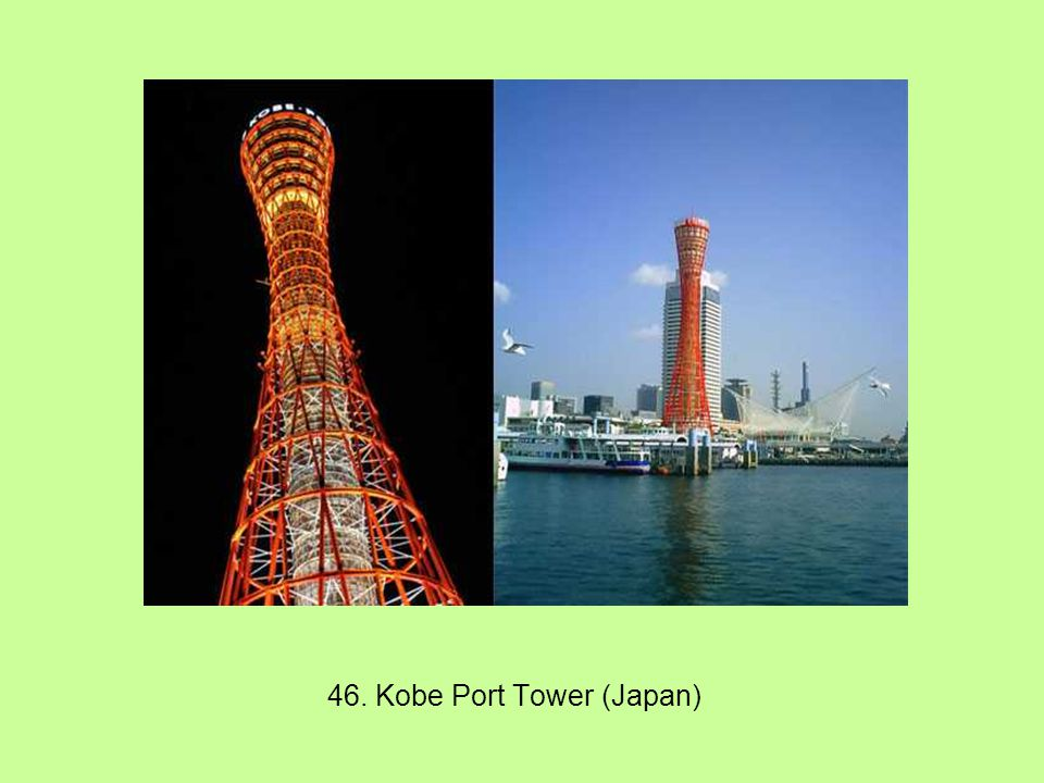 46. Kobe Port Tower (Japan)