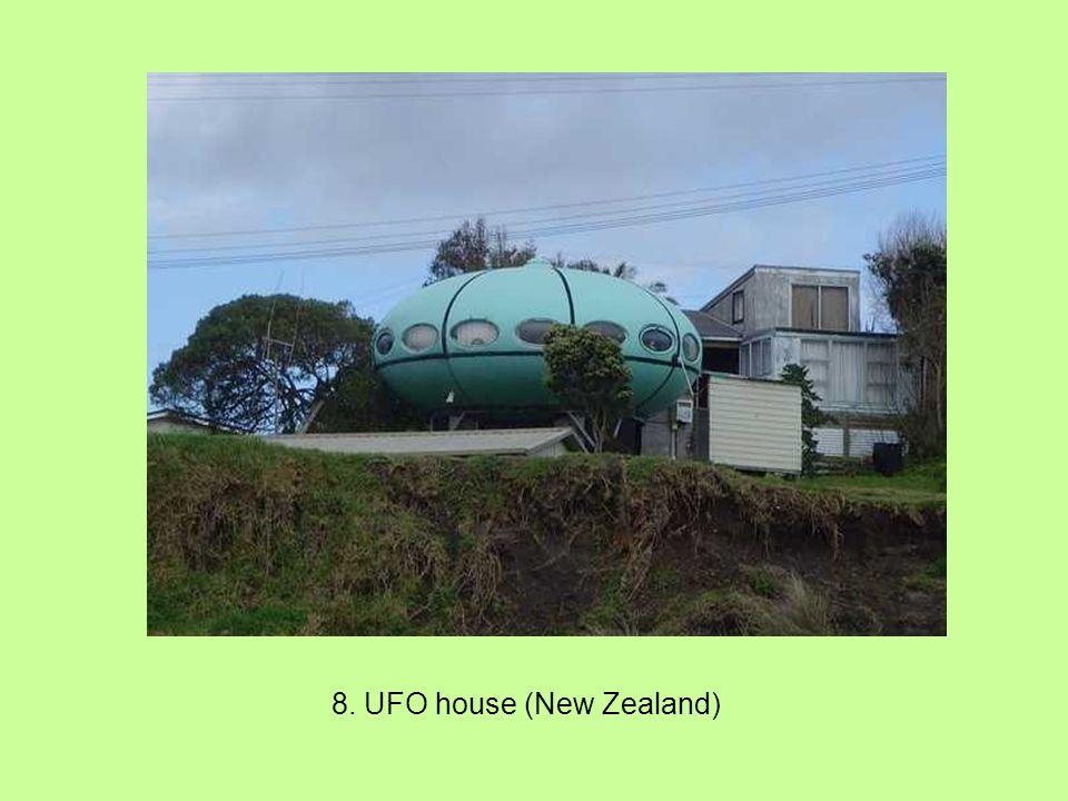 8. UFO house (New Zealand)