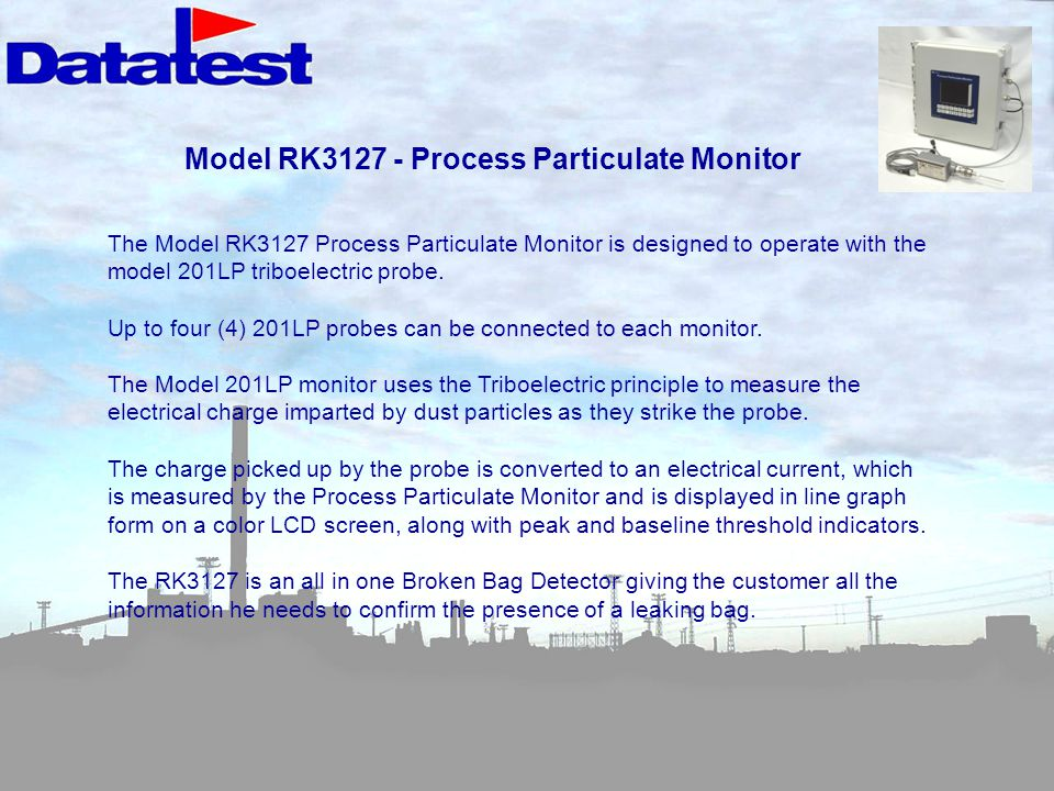 Model RK3127 - Process Particulate Monitor