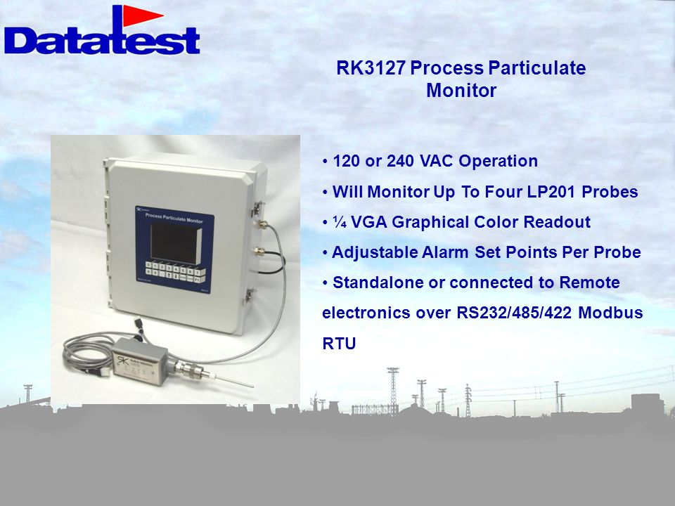 RK3127 Process Particulate Monitor