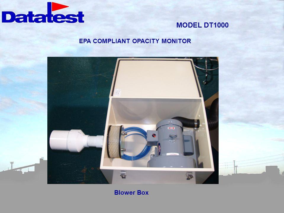 EPA COMPLIANT OPACITY MONITOR