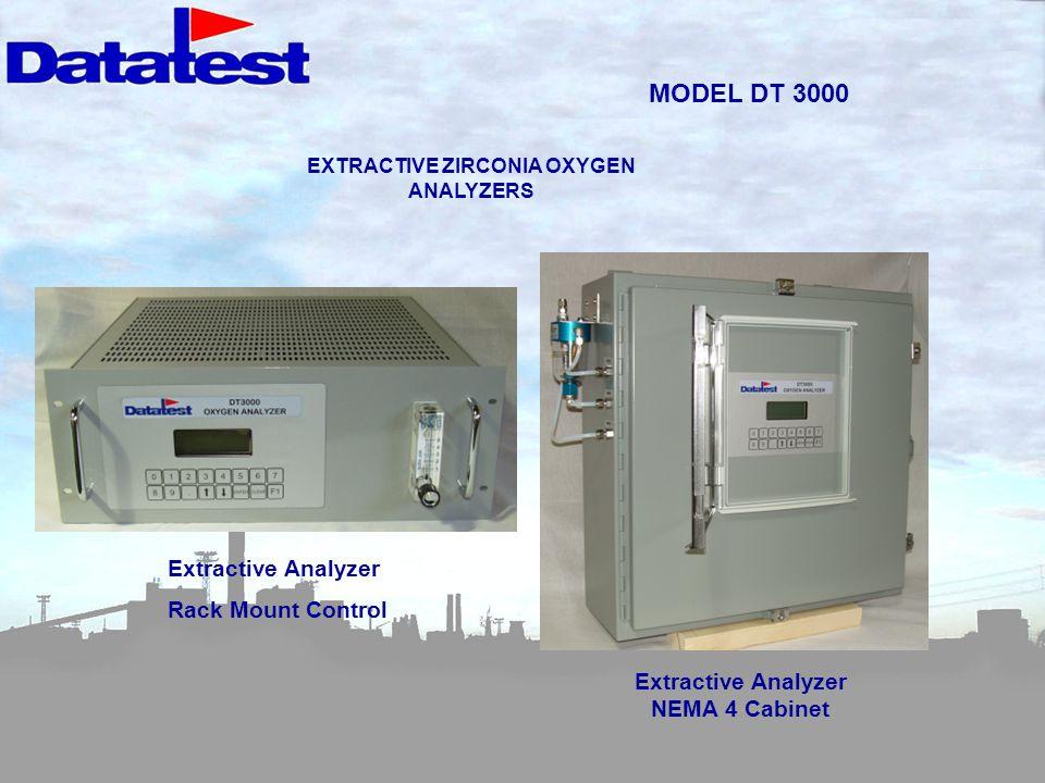 MODEL DT 3000 Extractive Analyzer Rack Mount Control