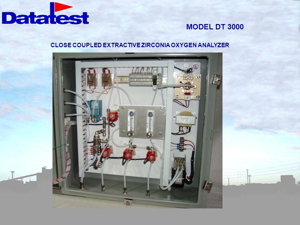 MODEL DT 3000 CLOSE COUPLED EXTRACTIVE ZIRCONIA OXYGEN ANALYZER