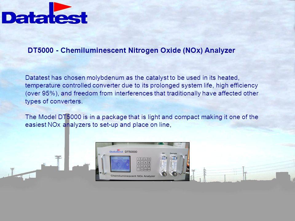 DT5000 - Chemiluminescent Nitrogen Oxide (NOx) Analyzer