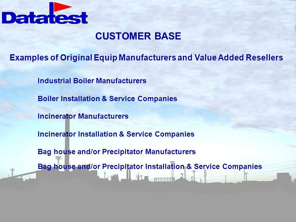 CUSTOMER BASE Industrial Boiler Manufacturers