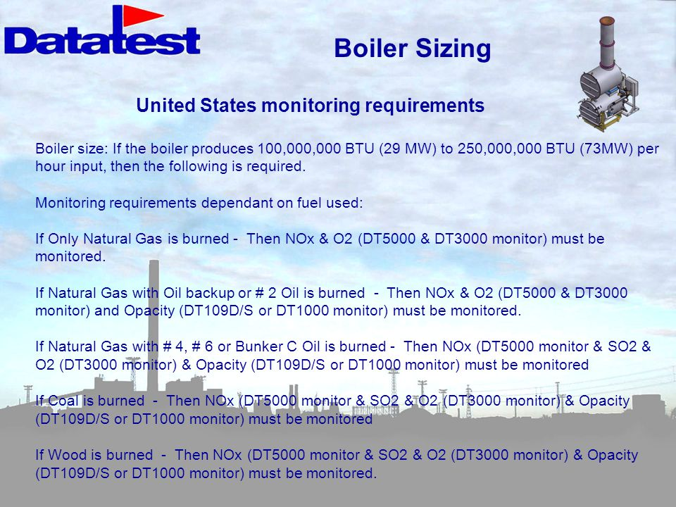 United States monitoring requirements