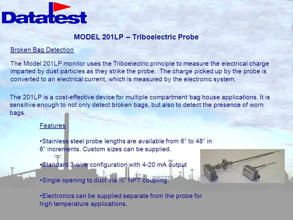 MODEL 201LP – Triboelectric Probe