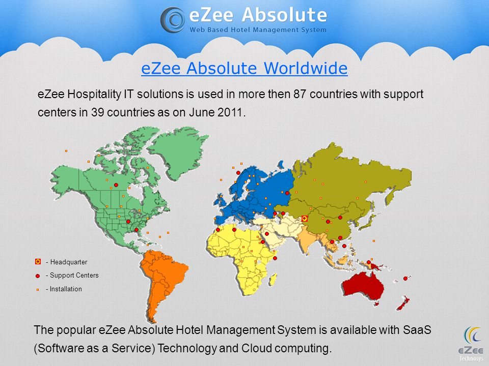 eZee Absolute Worldwide