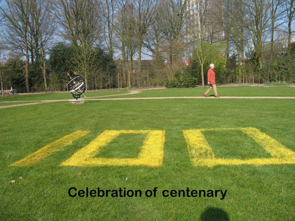 Celebration of centenary