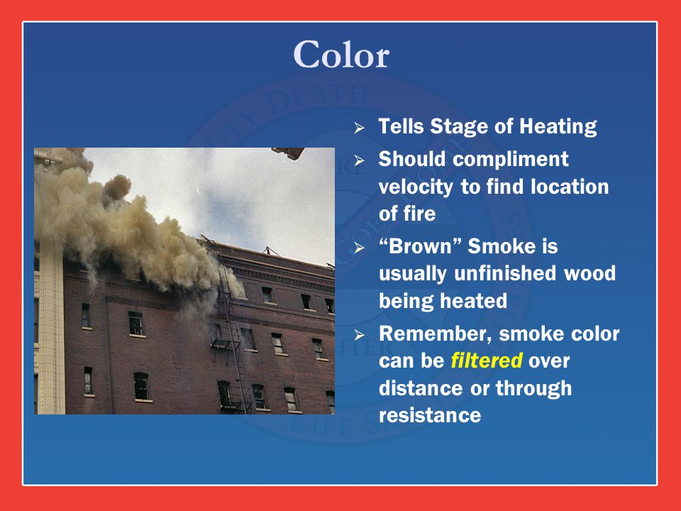 Color Tells Stage of Heating