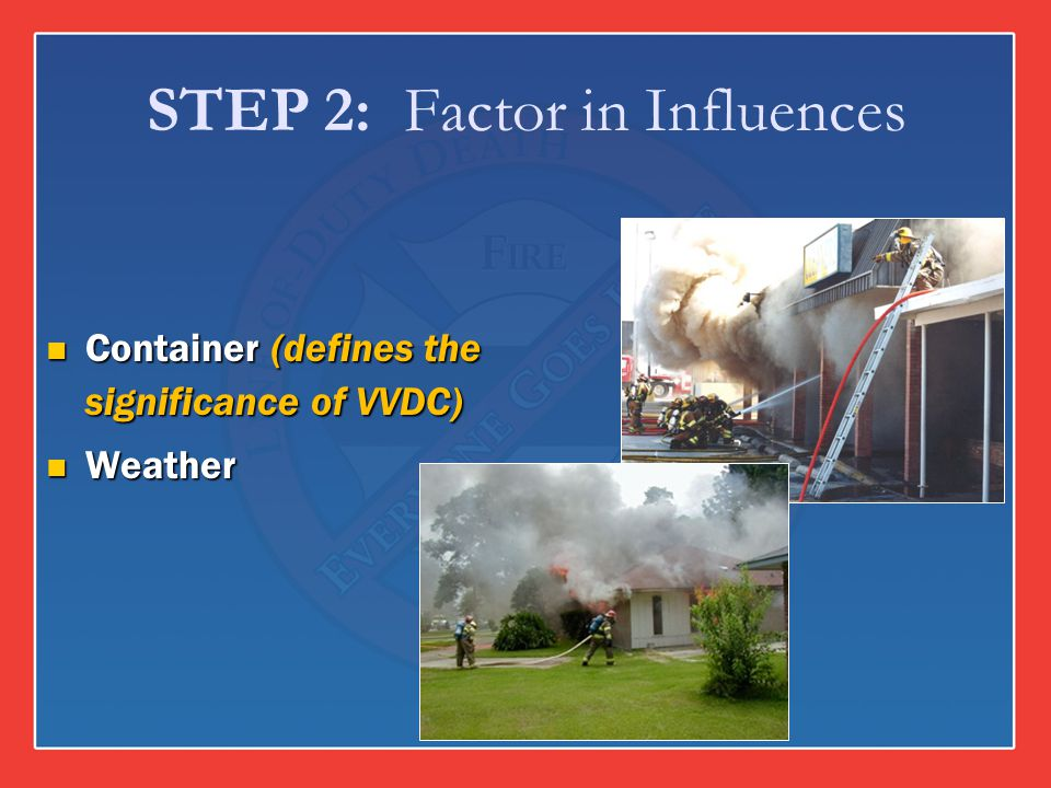STEP 2: Factor in Influences