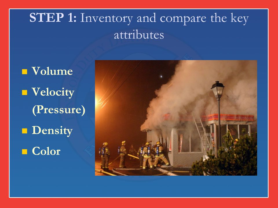 STEP 1: Inventory and compare the key attributes