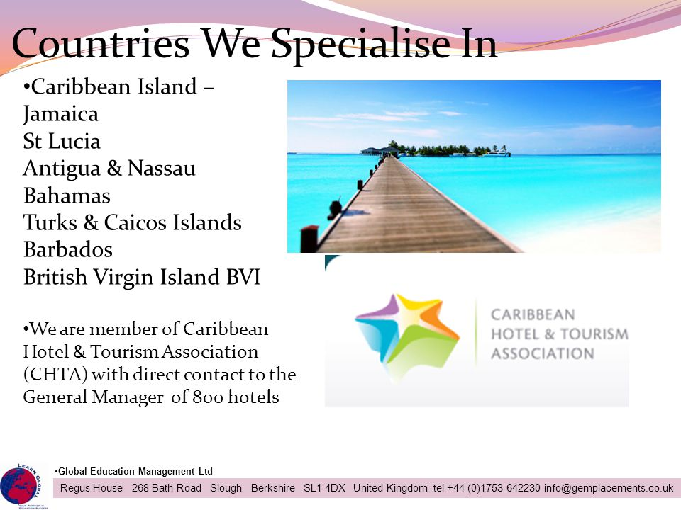 Countries We Specialise In