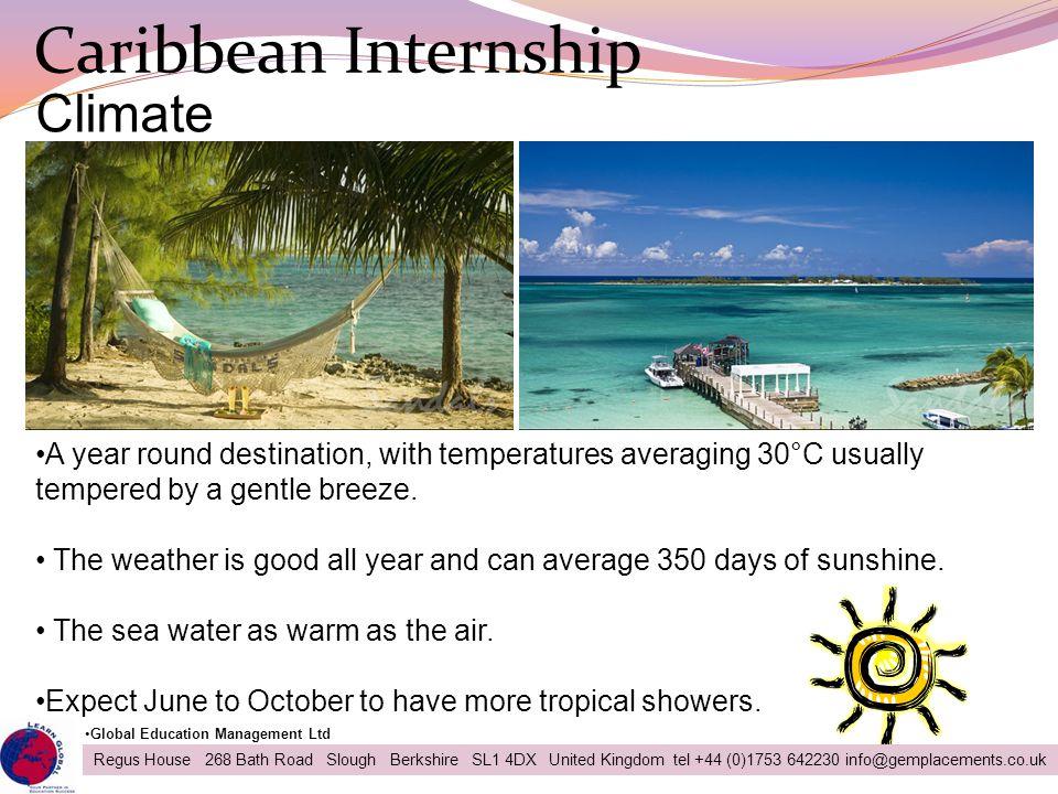 Caribbean Internship Climate