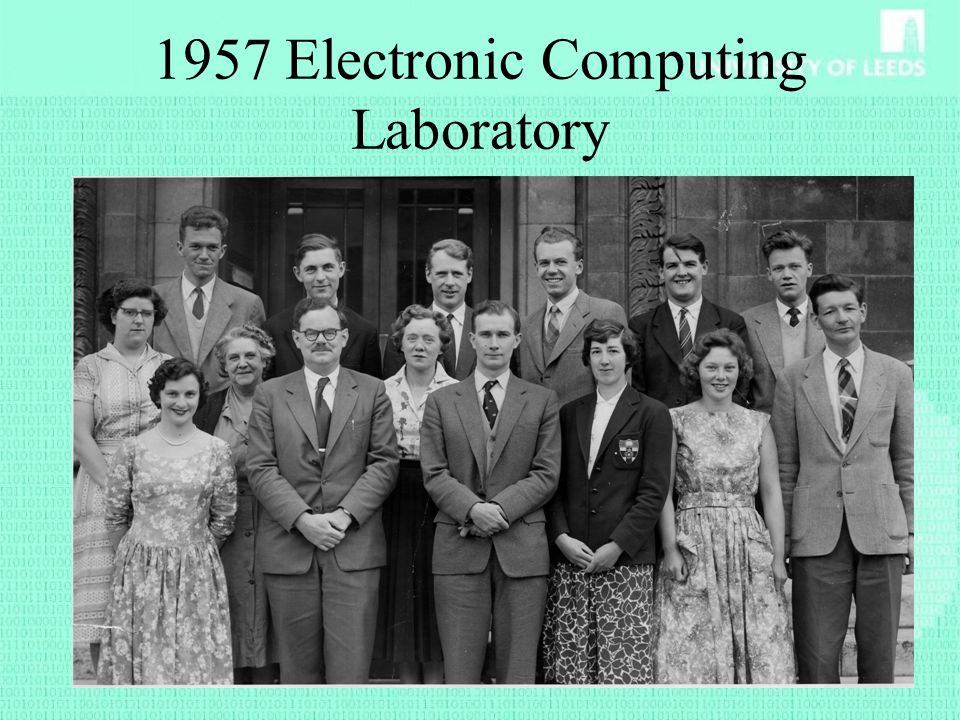 1957 Electronic Computing Laboratory