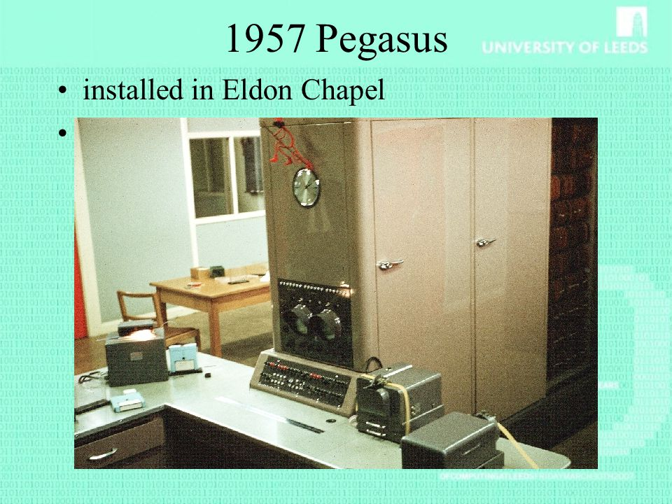 1957 Pegasus installed in Eldon Chapel Known as Lucifer
