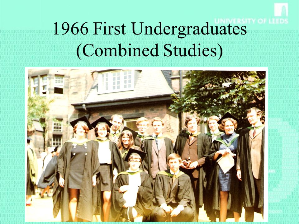 1966 First Undergraduates (Combined Studies)