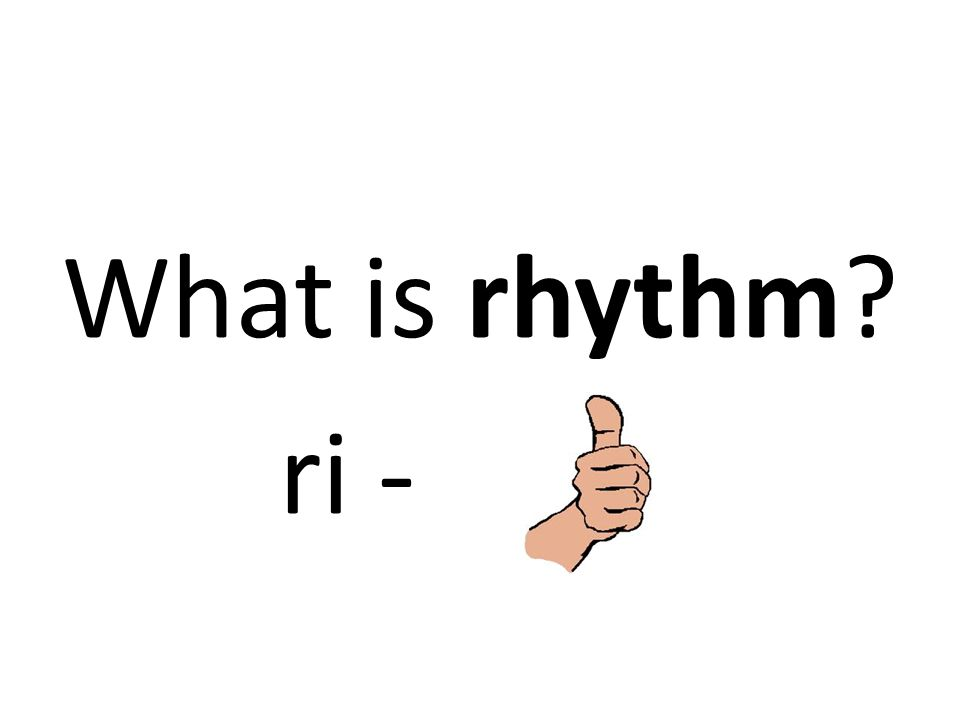 What is rhythm ri -