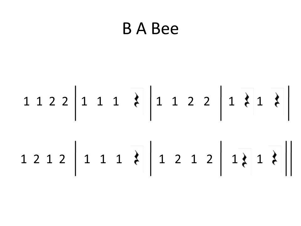 B A Bee 1 1 2 2 1 1 1 1 1 2 2 1 1 1 2 1 2 1 1 1 1 2 1 2 1 1