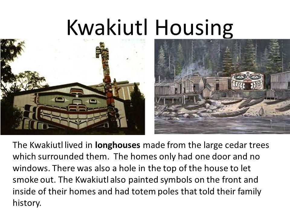 Kwakiutl Housing