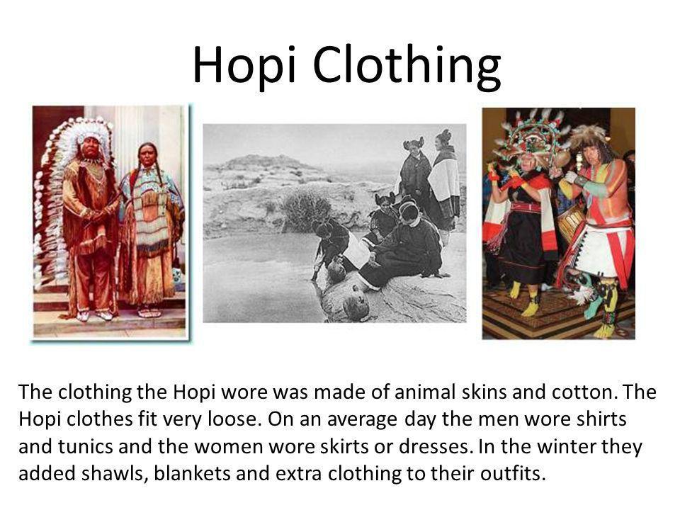 Hopi Clothing