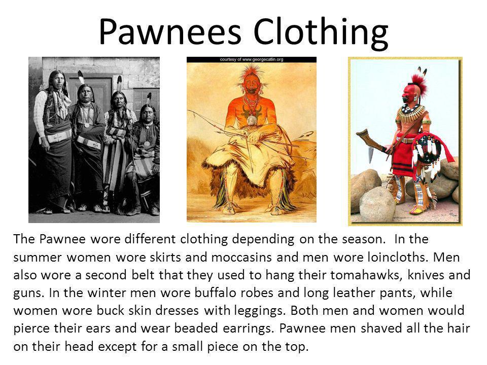 Pawnees Clothing