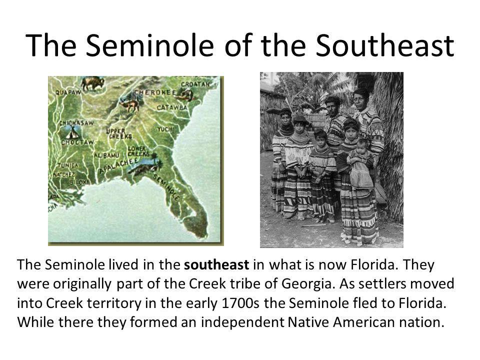 The Seminole of the Southeast