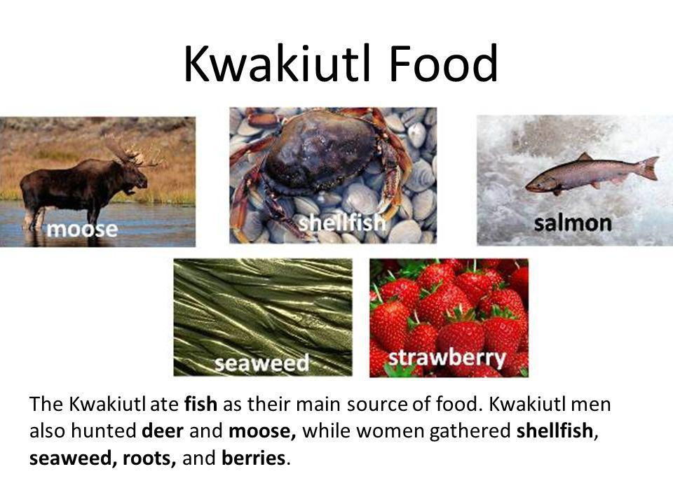 Kwakiutl Food