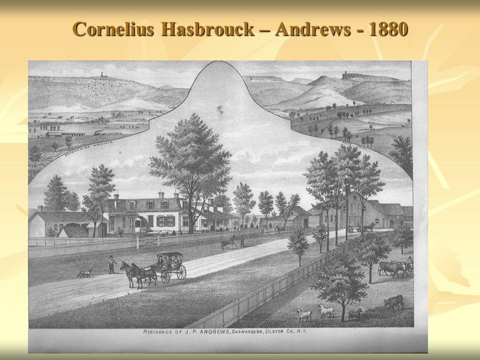 Cornelius Hasbrouck – Andrews - 1880