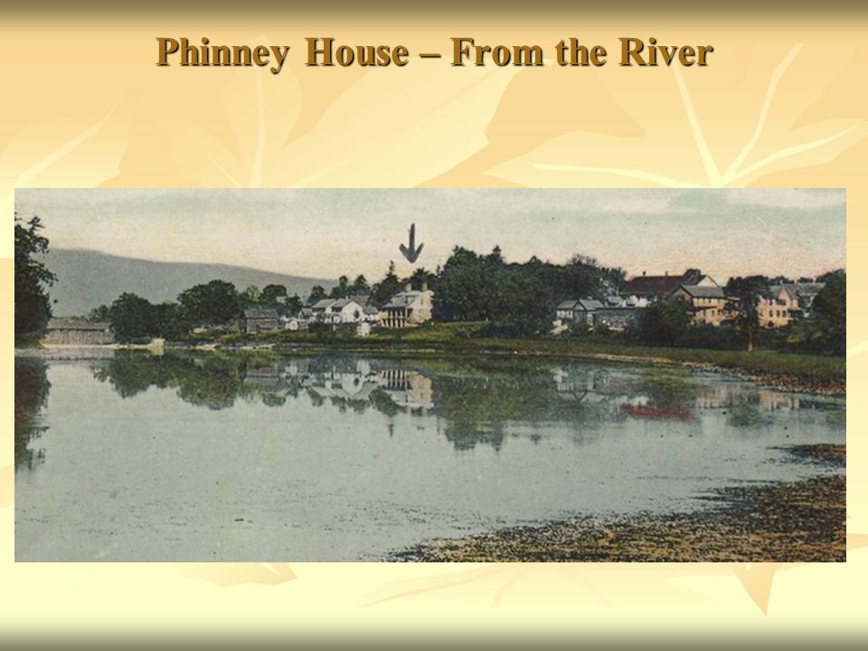 Phinney House – From the River