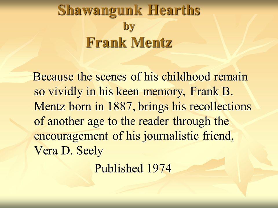 Shawangunk Hearths by Frank Mentz