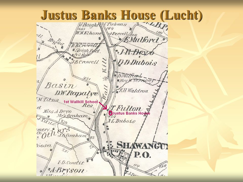 Justus Banks House (Lucht)