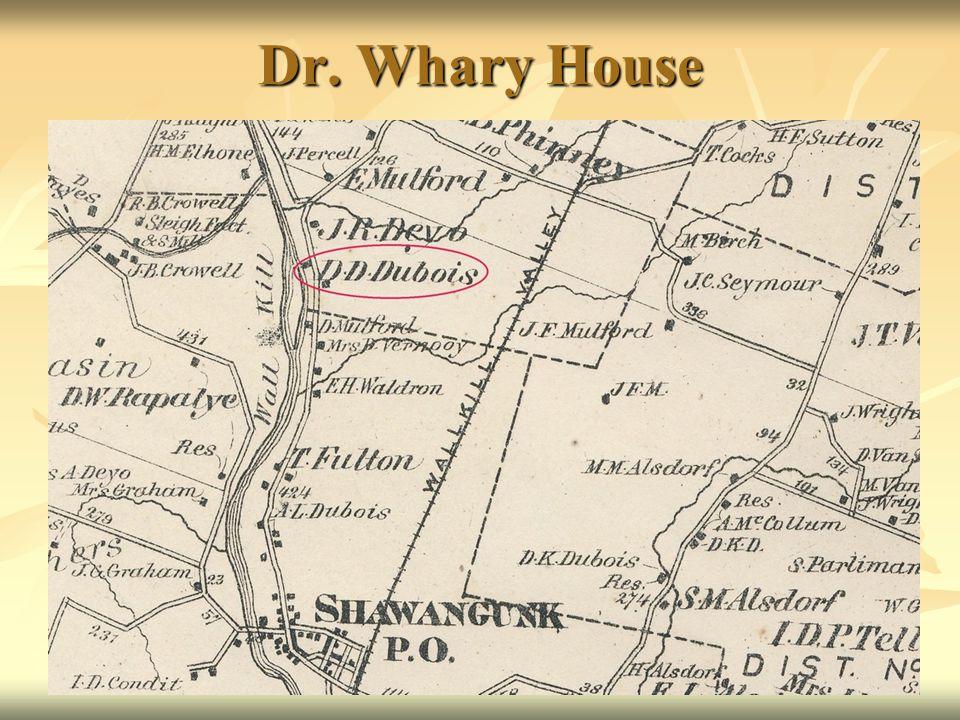 Dr. Whary House