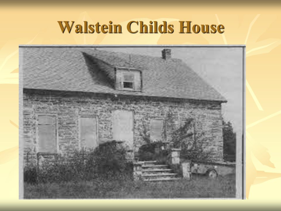 Walstein Childs House
