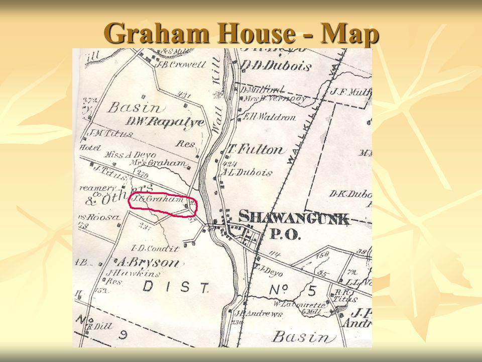 Graham House - Map