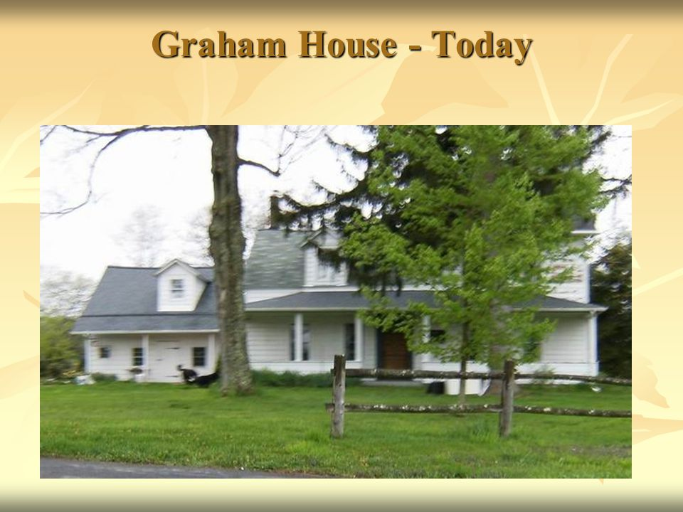 Graham House - Today