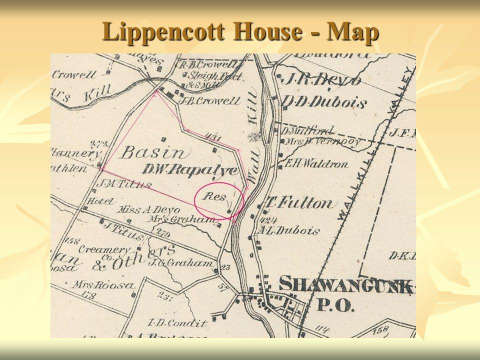 Lippencott House - Map