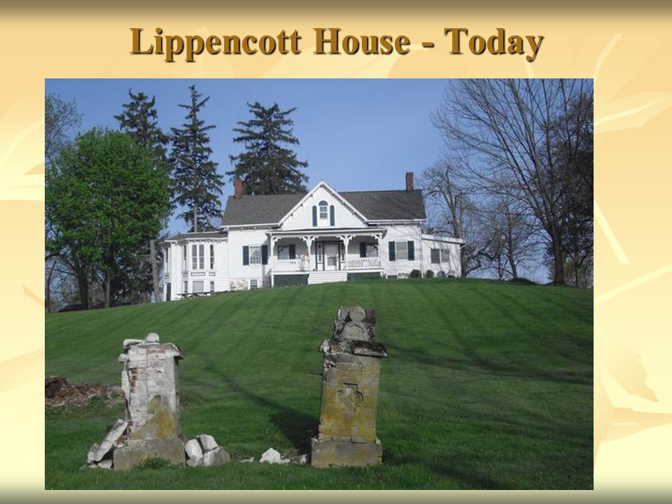 Lippencott House - Today