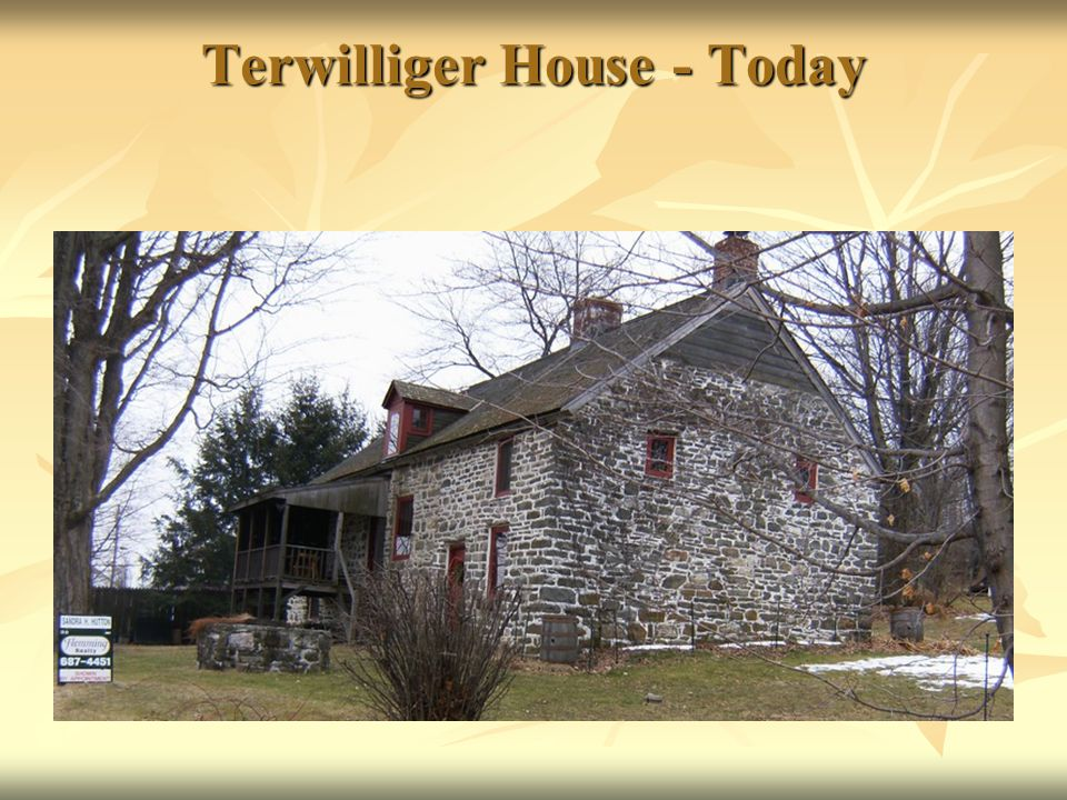 Terwilliger House - Today