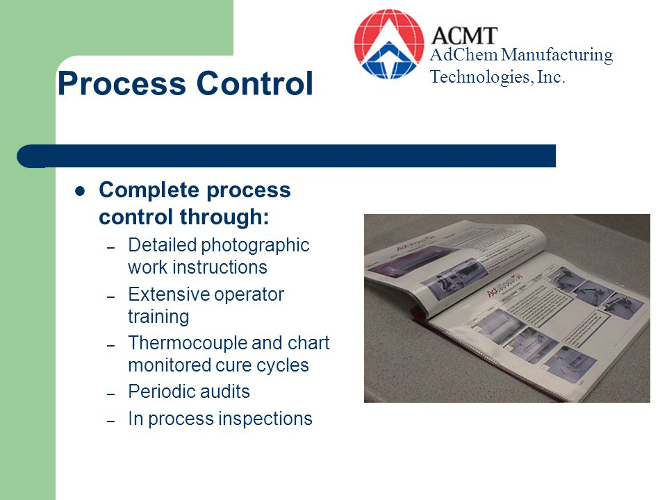 Process Control Complete process control through: