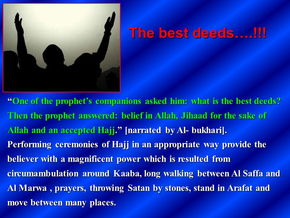 The best deeds….!!!