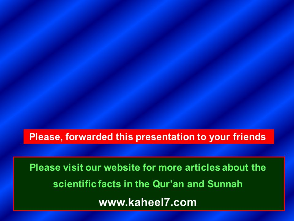 Please, forwarded this presentation to your friends