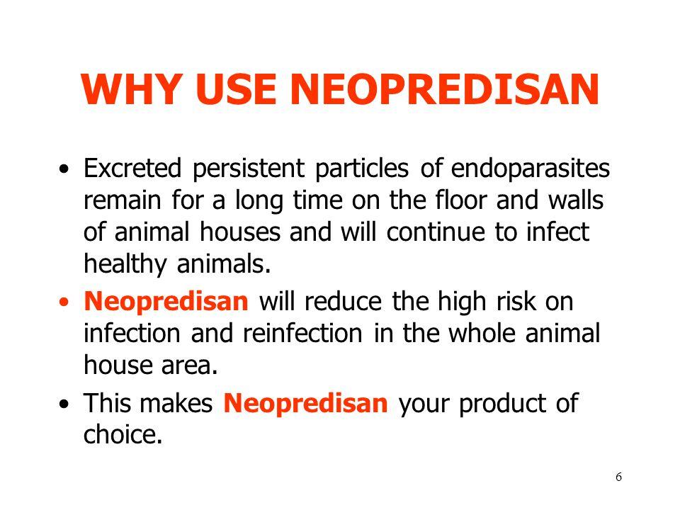 WHY USE NEOPREDISAN