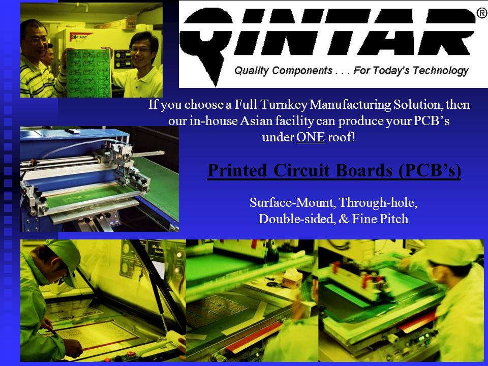 Printed Circuit Boards (PCB's)