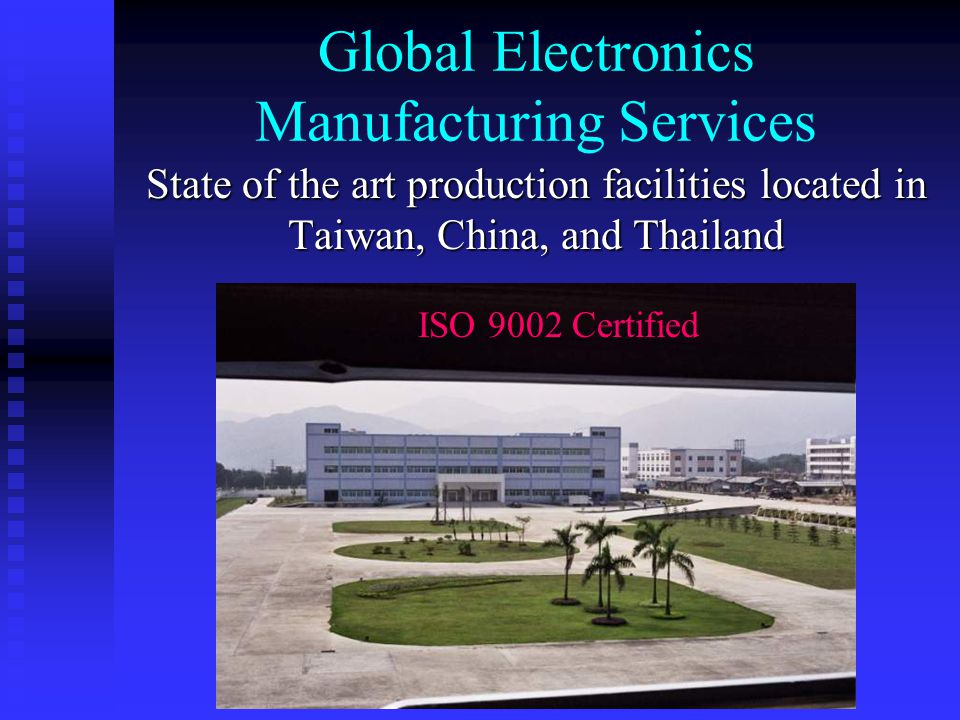 Global Electronics Manufacturing Services