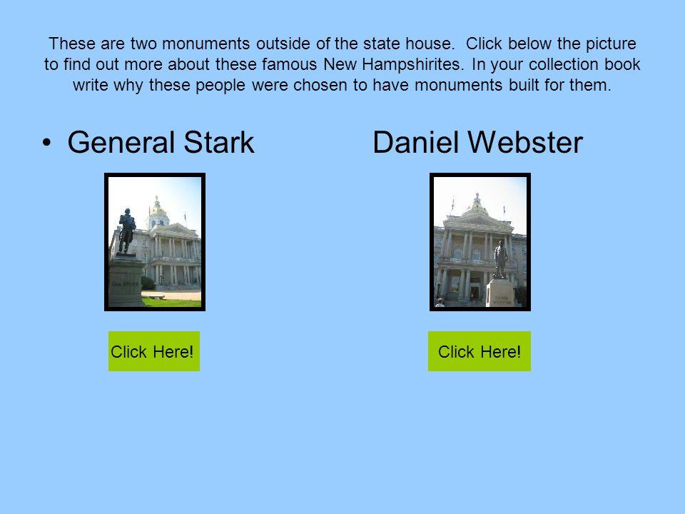 General Stark Daniel Webster