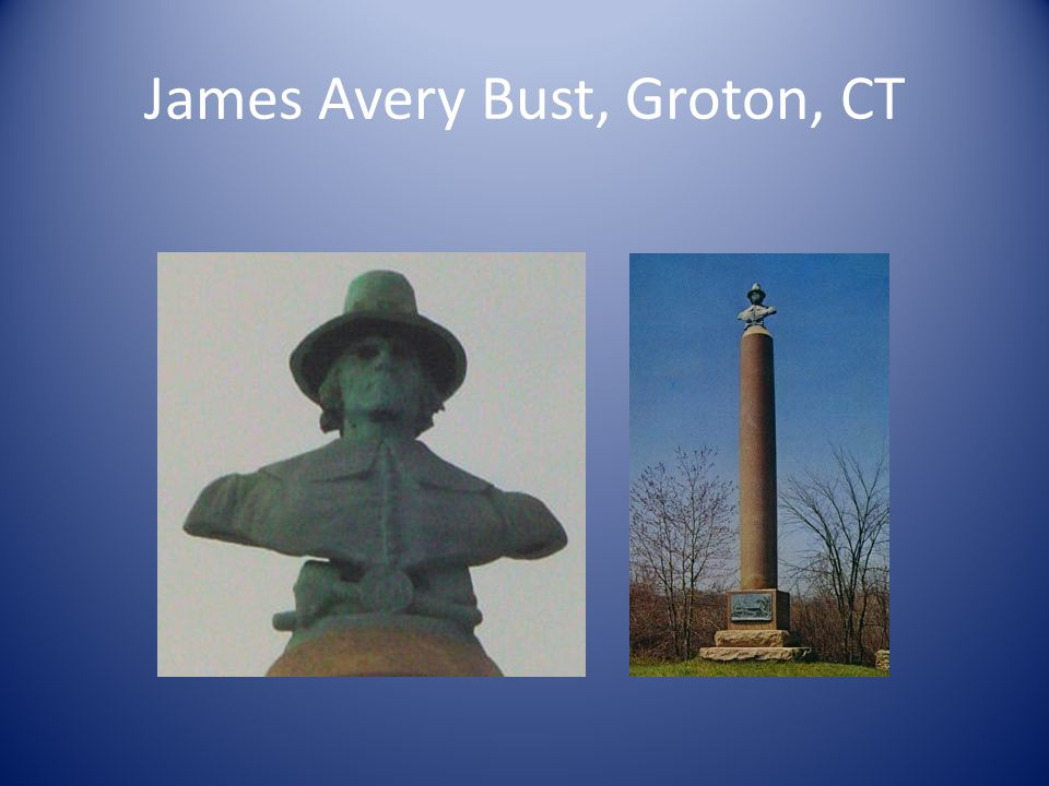James Avery Bust, Groton, CT